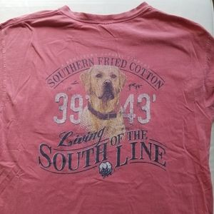 Southern Fried Cotton Yellow Lab Tee